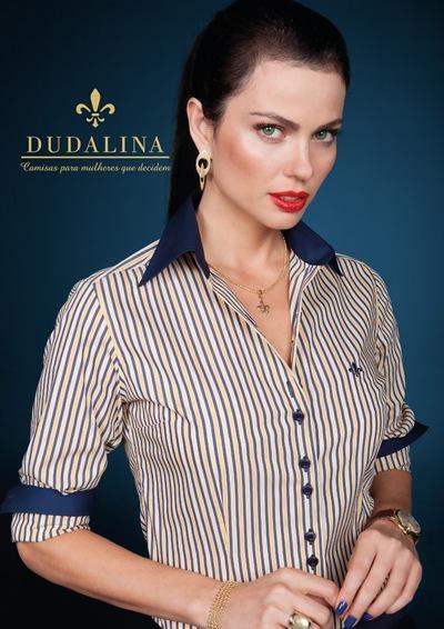 Camisa Dudalina com estampas (Foto: Divulgação)