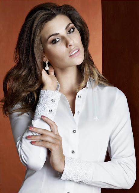 Camisa Dudalina branca e elegante feminina (Foto: Divulgação)