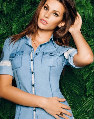 Camisa Dudalina jenas para mulheres (Foto: Divulgação)