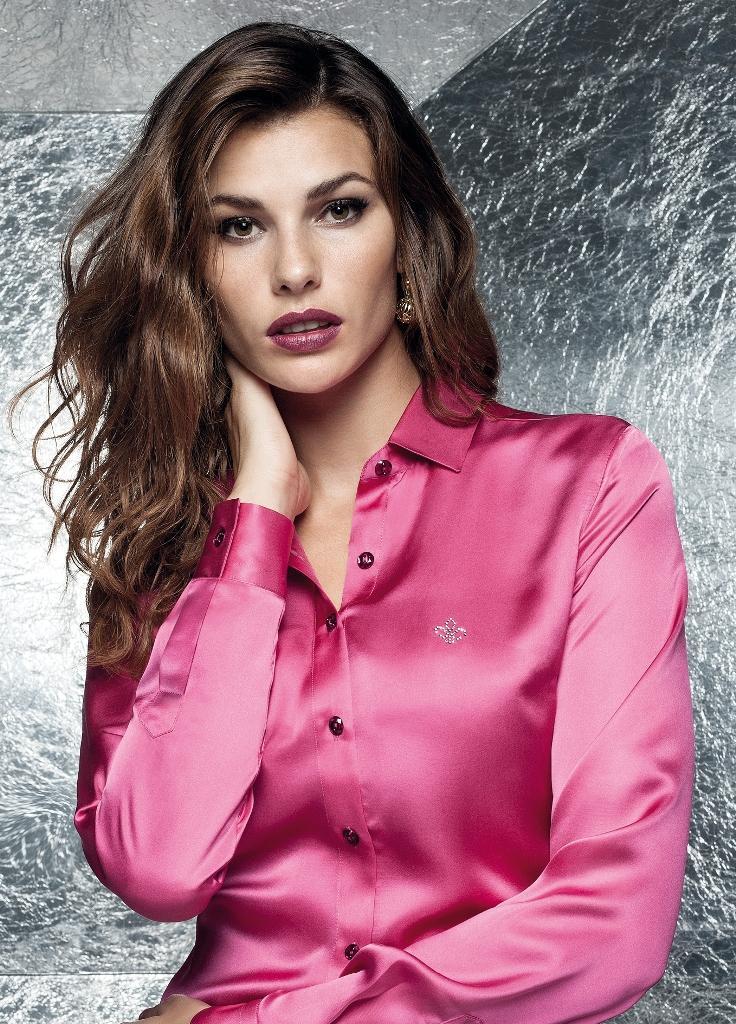 Camisa pink linda Dudalina (Foto: Divulgação)