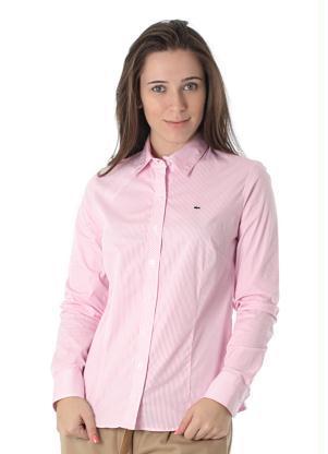 Camisa rosa claro Dudalina (Foto: Divulgação0