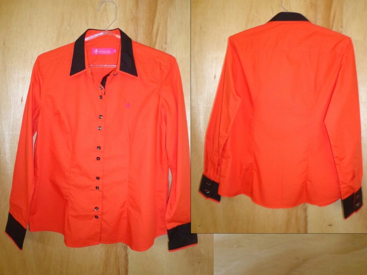 Camisa Dudalina laranja (Foto: Divulgação)