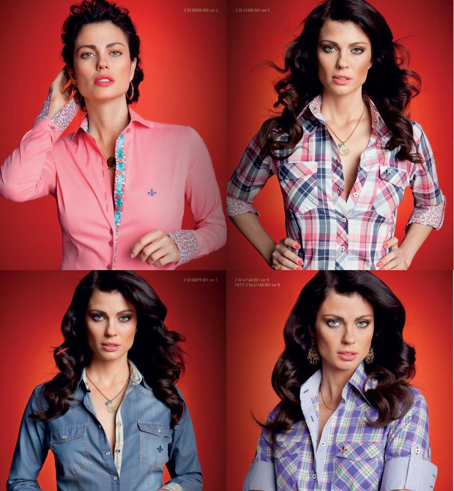 Camisa Dudalina de vários estilos agradam muitos tipos de mulheres (Foto: Ilustração)