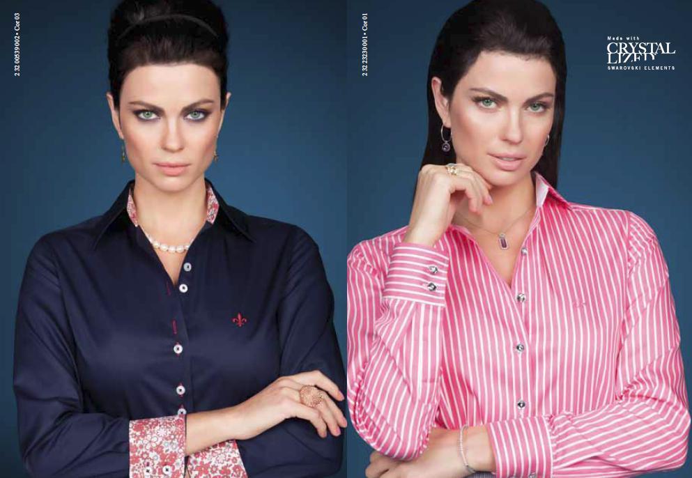 Camisas Dudalina com todas as cores (Foto: Divulgação)