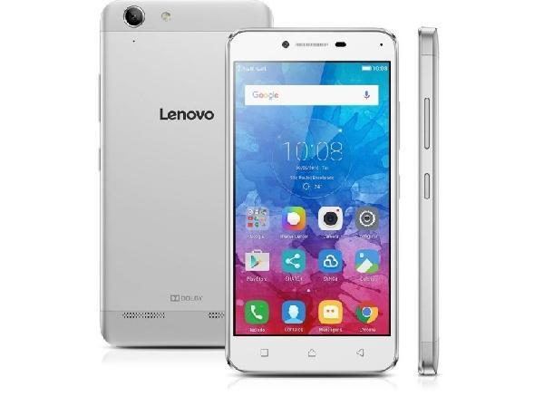 O Smartphone Lenovo Vibe K5 A6020l36 Prata Dual Chip (Foto: Divulgação)