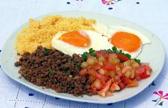 Baixaria é um prato típico do Acre. (Foto: Reprodução/Globo.com)