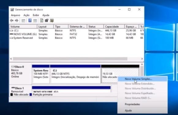Configure a nova partição. (Foto: Reprodução/Windows Fail)