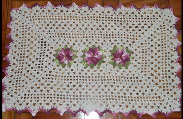 Tapete de crochê pode ser uma grande opção para você de presente (Foto: Divulgação)