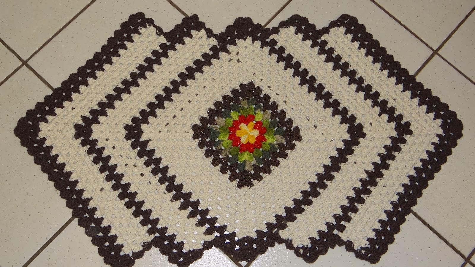 Sempre tem um tapete de crochê que é a sua cara (Foto: Divulgação)