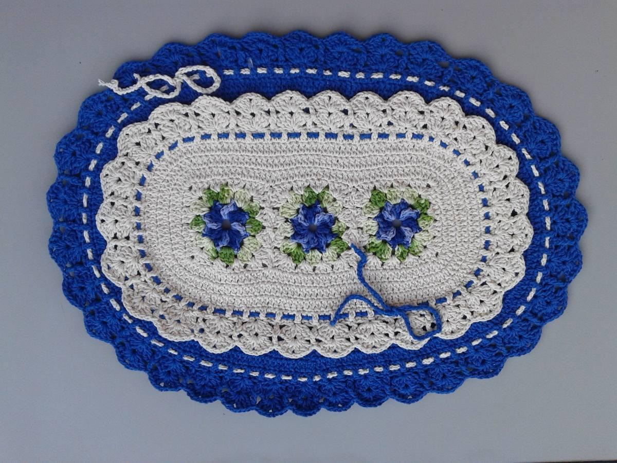 Todos conseguem fazer um bom tapete de crochê, basta treino (Foto: Divulgação)
