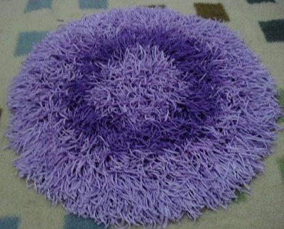 Tapete com base em crochê (Foto: Divulgação)