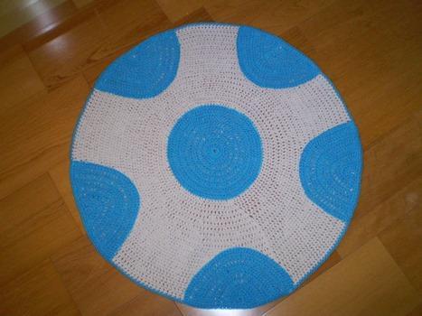 Tapete de crochê divertido (Foto: Divulgação)