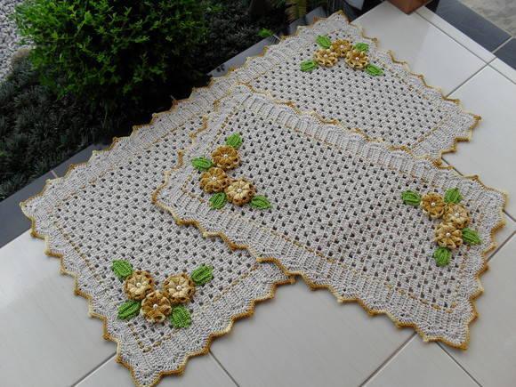 Aprenda a fazer um lindo tapete retangular (Foto: Divulgação)