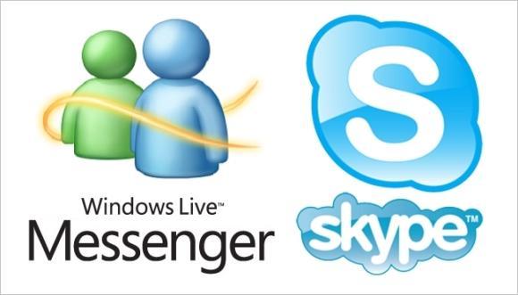 O Windows Live se transformou no Skype. (Foto: Reprodução/Uraonline)