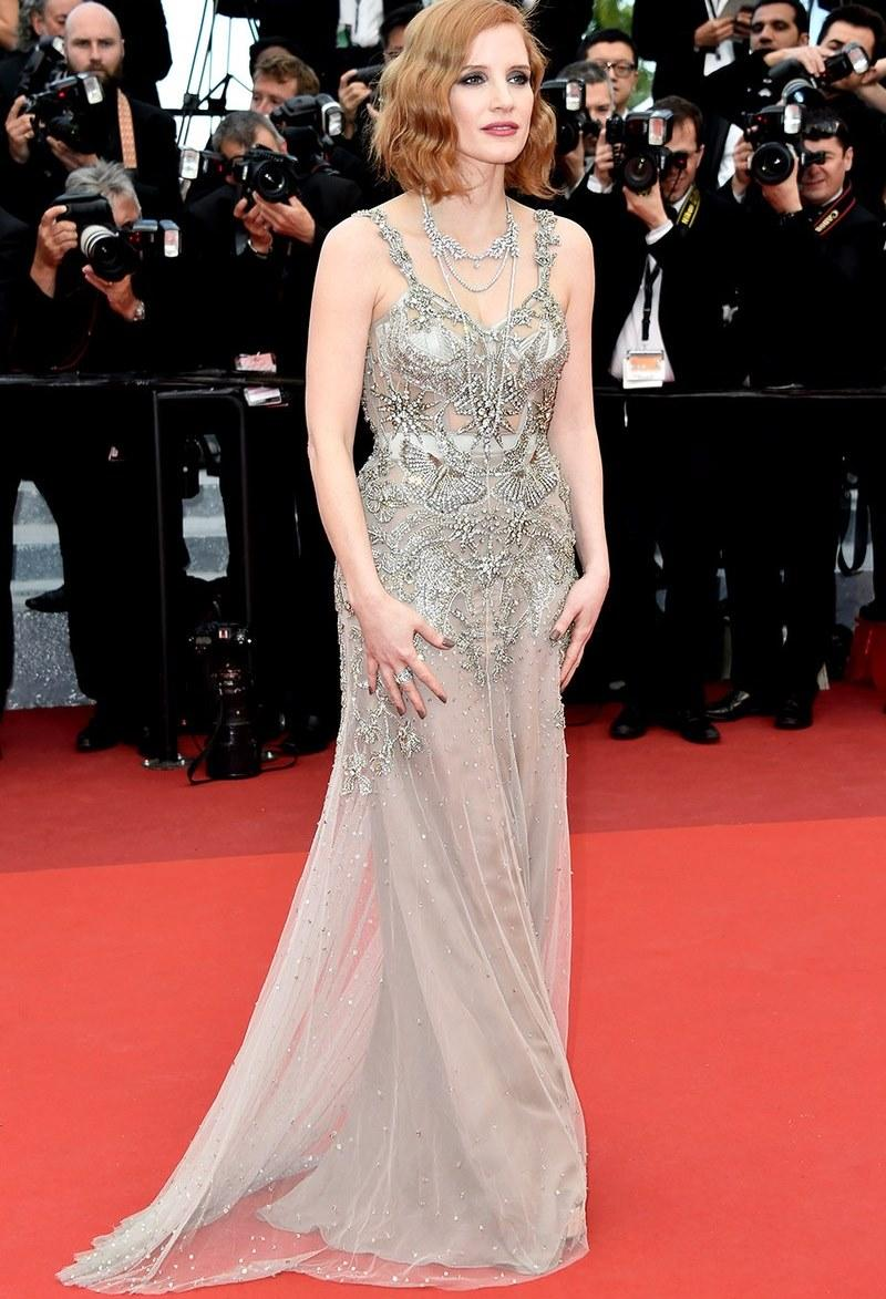 Jessica Chastain no Cannes 2016. (Foto: Reprodução/ Vanityfair)