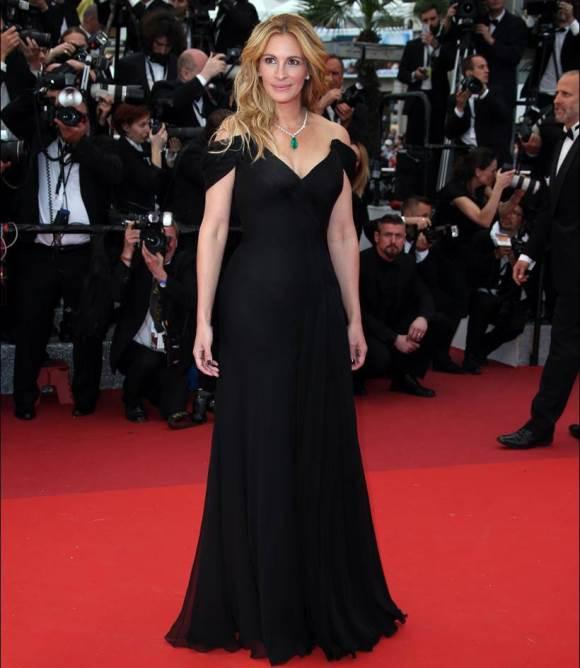 Look de Julia Roberts. (Foto:AP Photo/Joel Ryan)