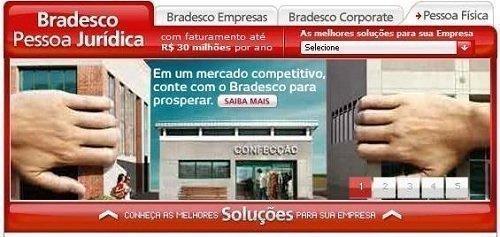 O Financiamento pessoa jurídica do Bradesco tem taxas de juros bem menores (Foto: Divulgação)