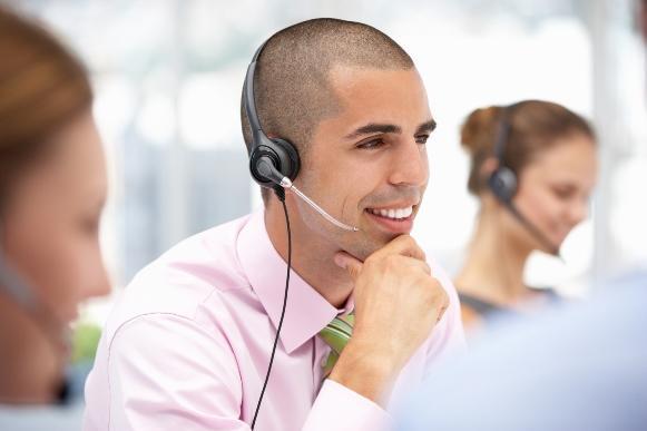 Há vagas para o curso grátis de operador de call center. (Foto Ilustrativa)