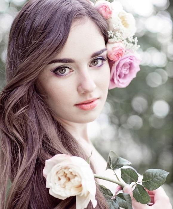 Look romântico de noiva. (Foto: Reprodução/Elegantweddinginvites)
