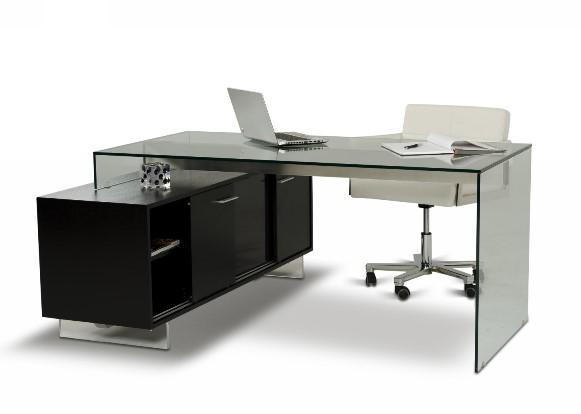 Mesas para escrit rio modelos e dicas mundodastribos for Mesas escritorio modernas