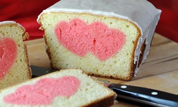 Prepare um bolo super romântico no dua dos namorados. (Foto: Reprodução/Recipebyphoto)