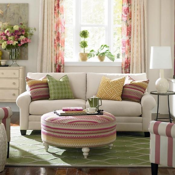 A combinação de rosa e verde deixa o ambiente alegre e divertido. (Foto: Reprodução/afamily)