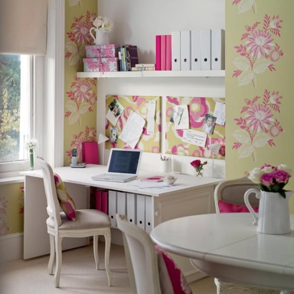 Rosa e Verde na decoração como combina 5