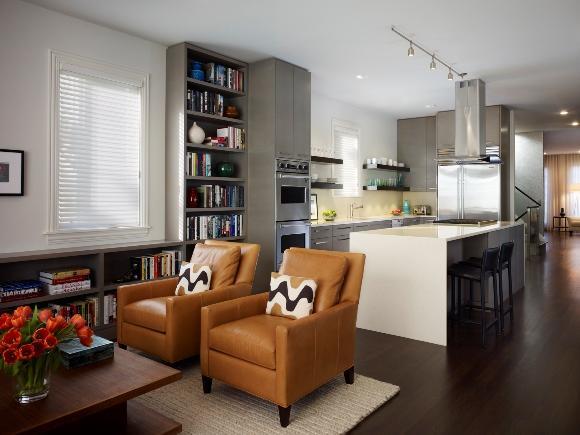 A integração é capaz de ampliar a casa. (Foto: Reprodução/Onyapan)