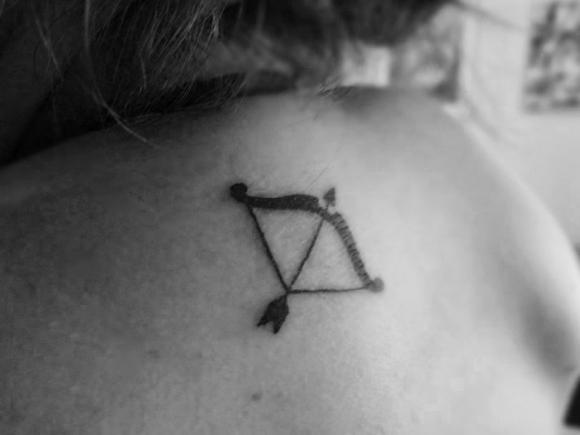 Tatuagem de Sagitário. (Foto: Divulgação)