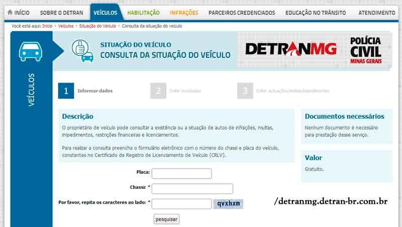 Simulado do Detran de Minas Gerais (Foto: Divulgação)