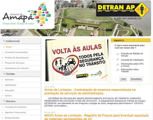 Simulado Detran Amapá (Foto: Divulgação)