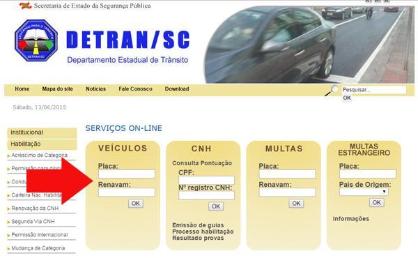 Simulado Detran Santa Catarina (Foto: Divulgação)