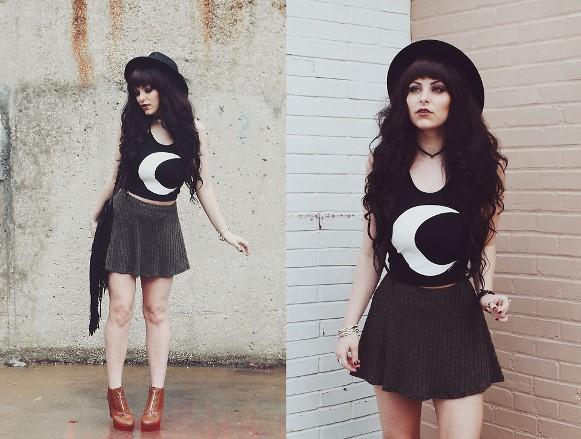 O estilo hipster está influenciando meninas e meninos. (Foto: Reprodução/Lookbook.nu)