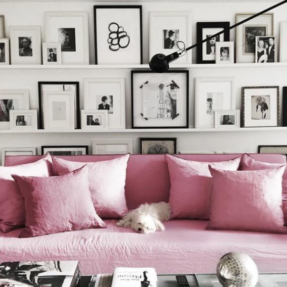 O Rose Quartz é a cor do ano. (Foto: Reprodução/Home-it)
