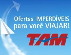 Voe TAM promoções de passagens aéreas 2016-2017