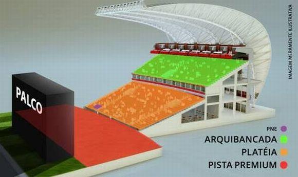 Em Porto Alegre, o show será no Anfiteatro Beira-Rio (Foto Ilustrativa)