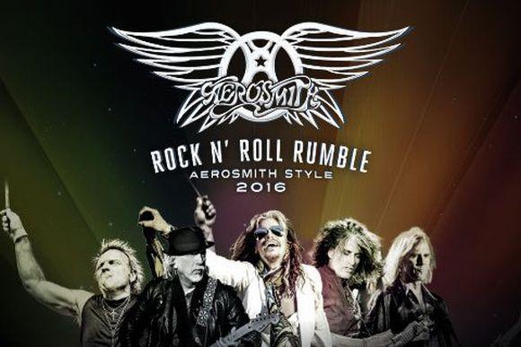 Em Recife, o Aerosmith se apresenta no Classic Hall (Foto: Reprodução Ingresso Rápido)