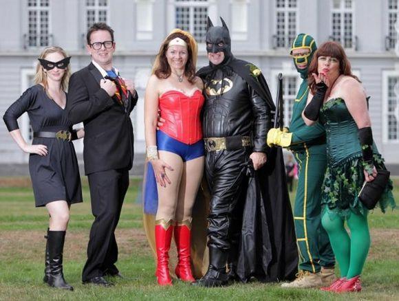 Casamento inspirado em super-heróis (Foto Ilustrativa)