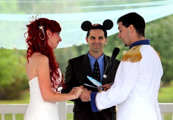 Outro casamento inspirado em A Pequena Sereia (Foto Ilustrativa)