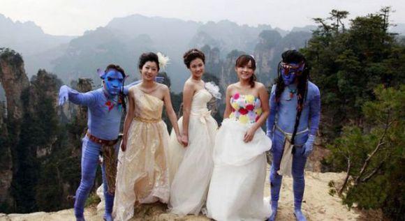 A inspiração desse casamento foi o filme Avatar (Foto Ilustrativa)