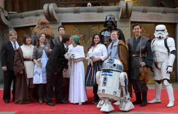 Os filmes Star Wars estão entre os preferidos nos casamentos criativos (Foto Ilustrativa)