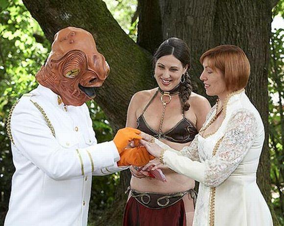 Casamento Star Wars (Foto Ilustrativa)