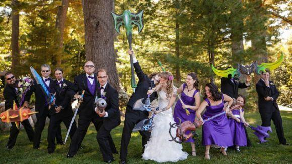 Casamento inspirado no jogo World of Warcraft (Foto Ilustrativa)