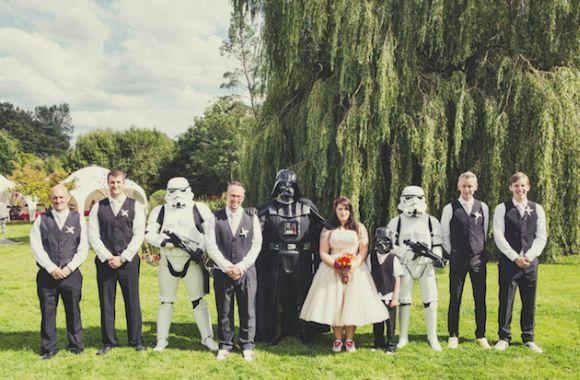 Mais um casamento Star Wars (Foto Ilustrativa)