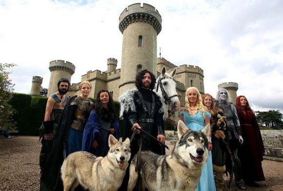 Casamento inspirado na série Game of Thrones (Foto Ilustrativa)