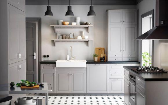 Uma cozinha mais clássica (Foto Ilustrativa)