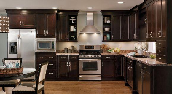 Nessa cozinha, o clássico e o moderno se misturam (Foto Ilustrativa)