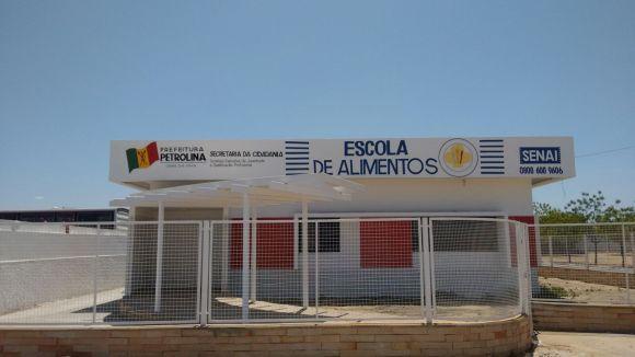 Os cursos são ministrados pela Escola de Alimentos de Petrolina (Foto: Divulgação Prefeitura de Petrolina)
