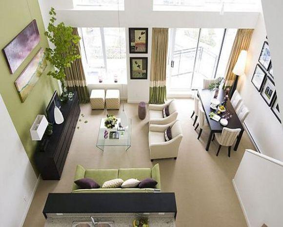 Sala integrada com outros ambientes (Foto Ilustrativa)