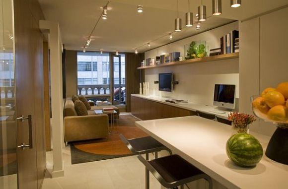 Outro exemplo de integração de ambientes (Foto Ilustrativa)